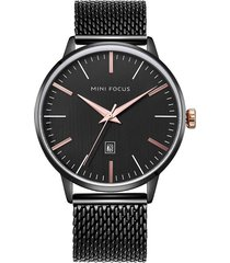 reloj análogo f0115gs-7 hombre negro