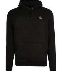 river island mens black ri slim fit hoodie