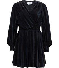 msgm draped dress