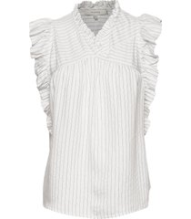 ervin blouse mouwloos wit munthe