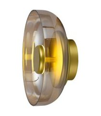 arandela disko dourada