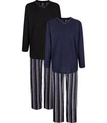 pyjama g gregory marine::zwart