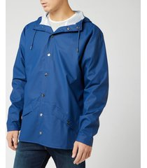 rains jacket - true blue - xs-s