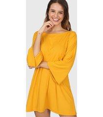vestido amarillo felisa manila