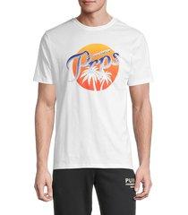 prps men's samarkand graphic t-shirt - off white - size xl