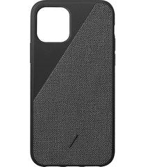 clic canvas iphone 11 pro case - black