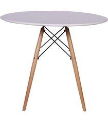 conjunto mesa de jantar impã©rio brazil eiffel - incolor/rosa - dafiti