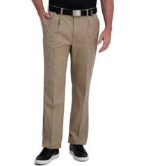 cool right performance flex classic fit pleat front pant