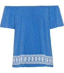 maglia con stampa a rilievo (blu) - bodyflirt