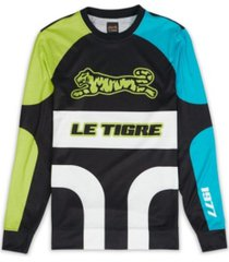 le tigre men's moto turns long sleeve t-shirt
