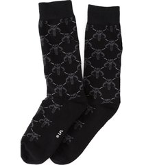 cufflinks, inc. star wars(tm) mandalorian socks, size one size - grey
