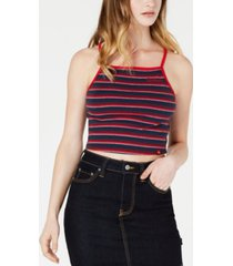 dickies striped square-neck tank top