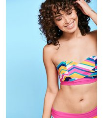 bondi beach underwire bandeau bikini top d-gg cup