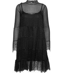 briella dress knälång klänning svart allsaints