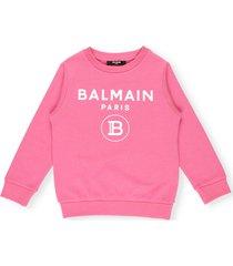 balmain cotton sweatshirt
