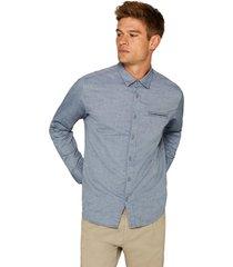 camisa con textura en 100% algodón esprit