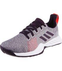 zapatilla violeta  adidas performance solar lt trainer w