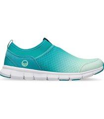 lente 2 women's leisure shoes låga sneakers blå halti