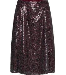 maggie skirt knälång kjol lila by malina
