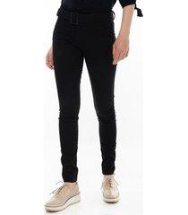 pantalón negro para mujer entubado 97388