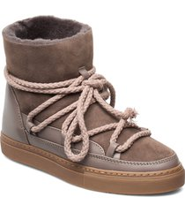 inuikii sneaker classic shoes boots ankle boots ankle boot - flat brun inuikii