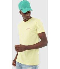 camiseta billabong bless the booze amarela - amarelo - masculino - dafiti