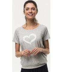 t-shirt ciążowy serce