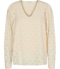 blouse cina offwhite