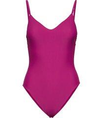 piece-rp baddräkt badkläder rosa calvin klein