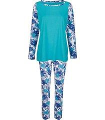 pyjama blue moon turquoise::wit::marine