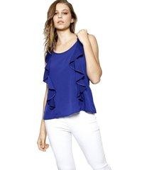 regata energia fashion azul marinho - azul marinho - feminino - dafiti