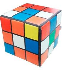 pufe goodpufes pufe cubo mágico colorido