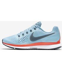 zapatillas para mujer nike air zoom pegasus 880560-404 - azul