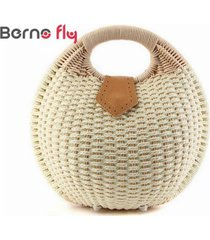 2017 fashion top-handle totes casual women straw bag summer beach bags solid zip