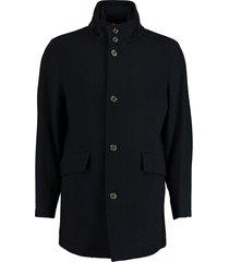 bos bright blue max coat 19301ma02bo/290 navy