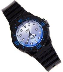 reloj casio dama modelo lrw 200h-2ev pulso en goma  resiente al agua original