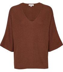 eginapw pu stickad tröja brun part two