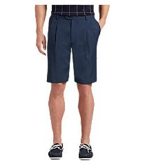 david leadbetter traditional fit pleated front performance golf shorts clearance by jos. a. bank