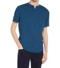 men's good man brand premium cotton t-shirt, size xx-large - blue