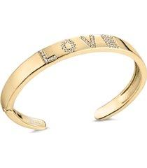 zaxie by stefanie taylor full of love open cuff bracelet