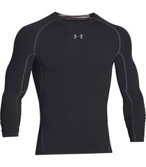 sueter under armour heatgear compression para hombre - negro