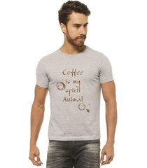 camiseta joss - coffee marrom - masculina