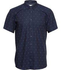 anchors ss shirt kortärmad skjorta blå makia