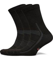 high cycling socks 3 pack underwear socks regular socks svart danish endurance