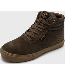 zapatilla urbana king high i khaki mormaii