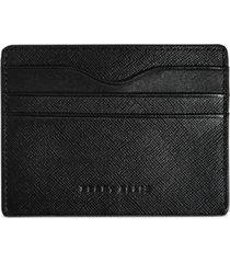 perry ellis men's leather id card case