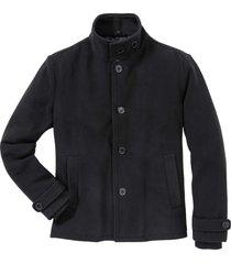 giacca in tessuto effetto lana regular fit (nero) - rainbow