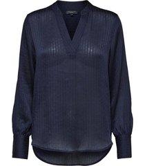 blouse donkerblauw