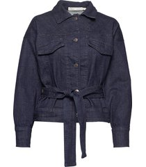 em iw jacket jeansjacka denimjacka blå inwear
