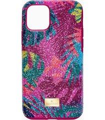 custodia per smartphone con bordi protettivi tropical, iphoneâ® 11 pro, multicolore scuro